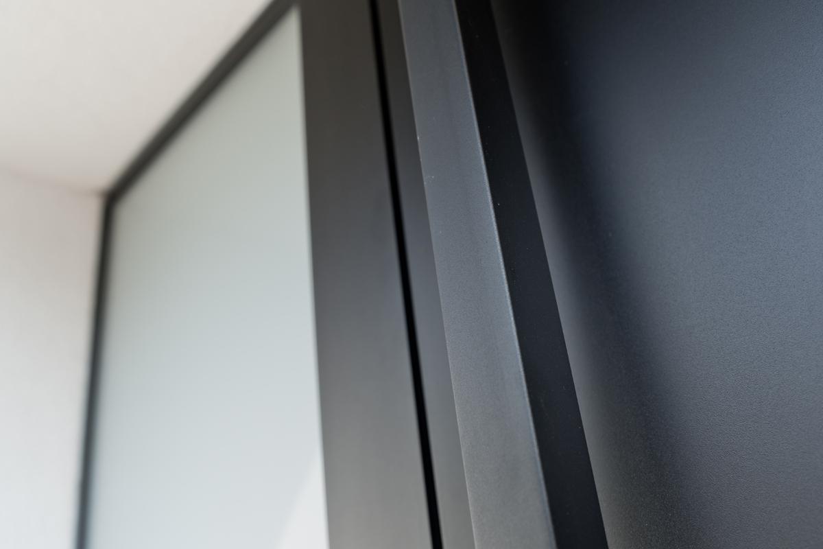 Portes d'entrée Aluminium avec dormant verre dépoli, Saint Maur des Fossés 94100 Val de Marne