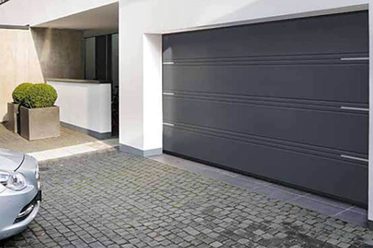 Portes de garage sectionnelle motorisée grande largeur PVC renforcé, Saint Maur des Fossés 94100 Val de Marne